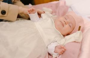 crop adormita la botez
